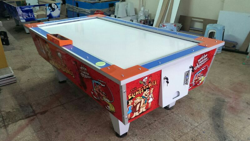 Air hockey flinstones